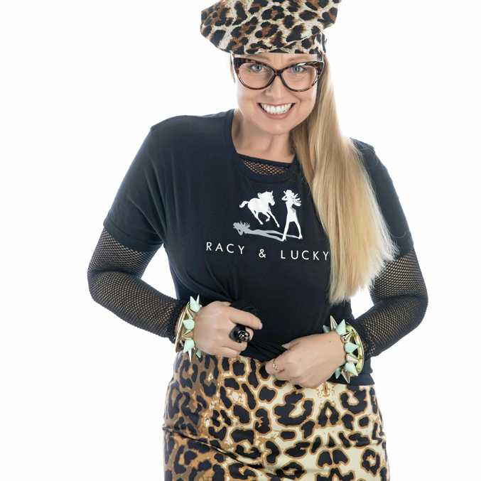 IN FLIGHT: Cindy Vogels' label Racy and Lucky has secured a prestigious spot in the lead-up to Brisbane Fashion Month.