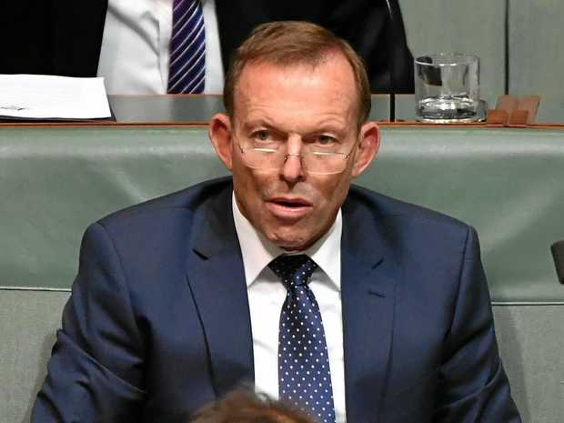 The Liberals seem to be taking a tack that if they ignore former prime minister Tony Abbott (pictured last month during Question Time in Canberra) eventually he will sit silently.