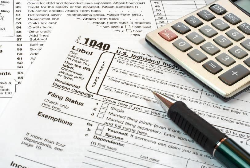 Generic tax return pic