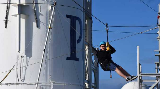 Making a flying start to the cruise adventure with P&O Edge on Pacific Dawn.