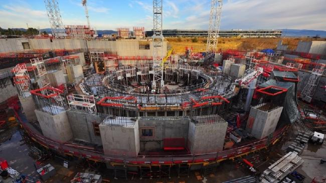 The International Thermonuclear Experimental Reactor being built in France.