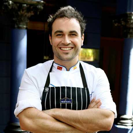 CELEBRITY chef Miguel Maestre.