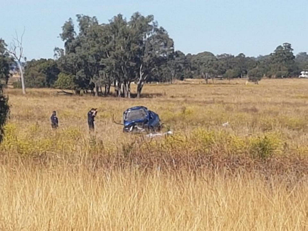 An 18-year-old man was killed in a single-vehicle crash in Pittsworth.