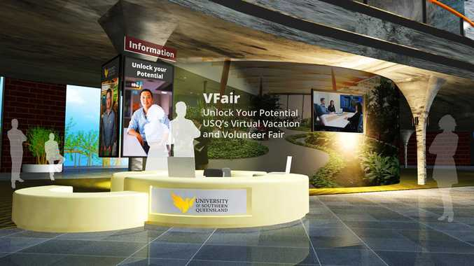 VFair provides USQ students the opportunity to engage with prospective employers in a virtual environment.