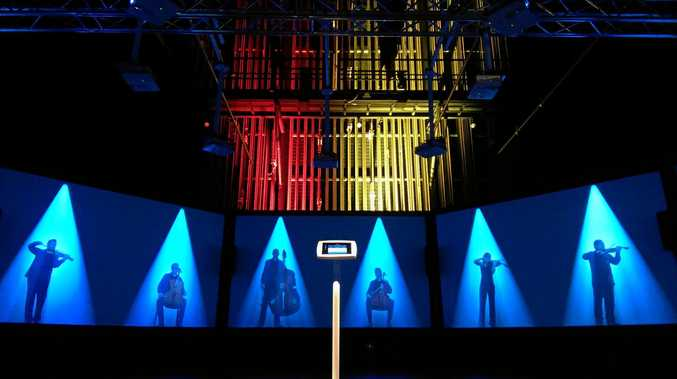 INTERACTIVE EXHIBITION: The Toowoomba Regional Art Gallery has been transformed with an audio-visual installation featuring the Australian Chamber Orchestra.