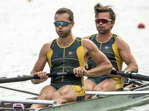 Aussie rowers set record in World Cup victory