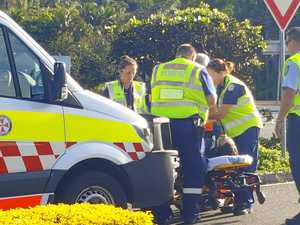 VIDEO: Skateboarder injured after colliding with car