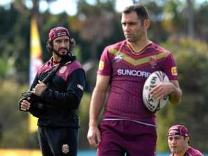 Injured Thurston still playing role in Origin