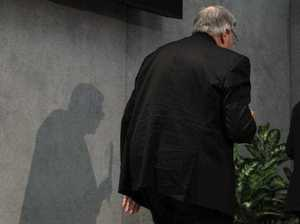 Pell lands in Australia