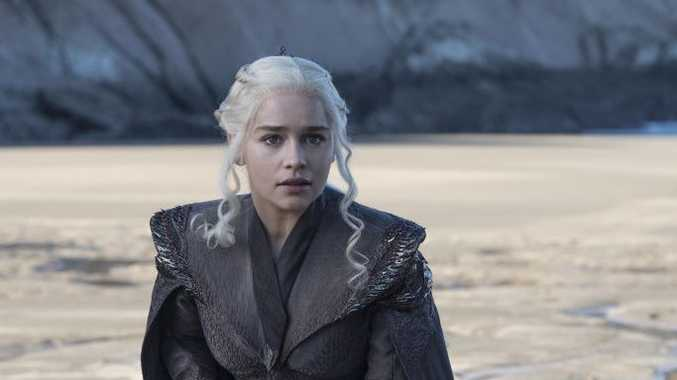 Emilia Clarke in a scene from season seven of Game of Thrones.
