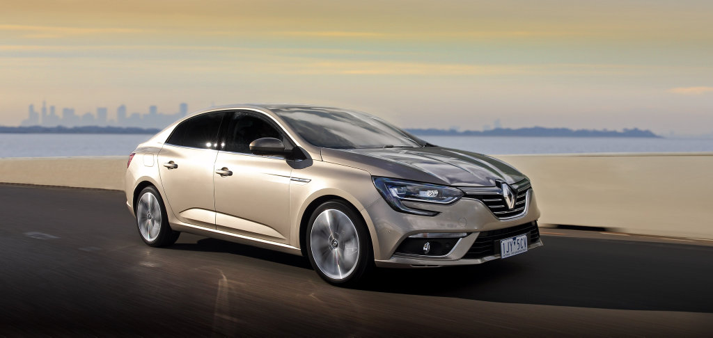 MORE CHOICE: Sedan and wagon body styles join the hatchback in the Renault Megane's expanding range