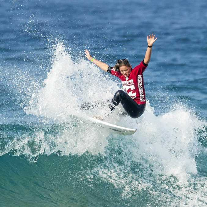 Sophia Fulton won the 2017 Ballito Women's Pro in South Africa after defeating Hawaii's Zoe McDougall in the final.