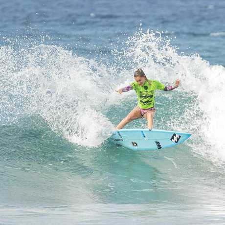 Pacha Light finished equal third at the Ballito Women's Pro to record her best WQS result to date.