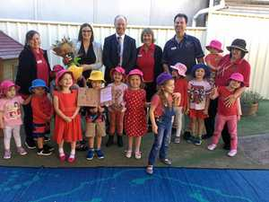 Little Aussies on song with minister's visit