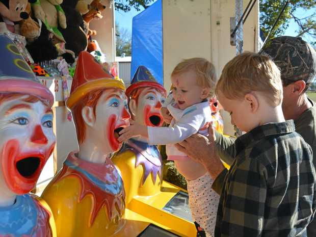GREAT DAY OUT: Lincoln and Myra Taylor had plenty of fun at the 2017 Laidley Show.