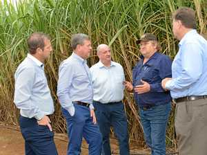 I'll give you the power, Nicholls tells farmers in Bundy