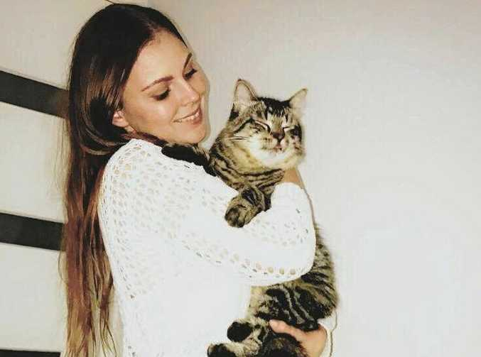 Khesan Horvat is reunited with cat Bludger 11 months after he disappeared.