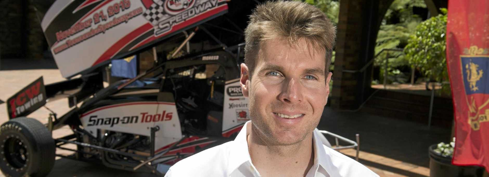 GOOD POSITION: Toowoomba's IndyCar driver Will Power.