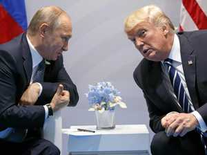 Donald puts foot in mouth with Putin