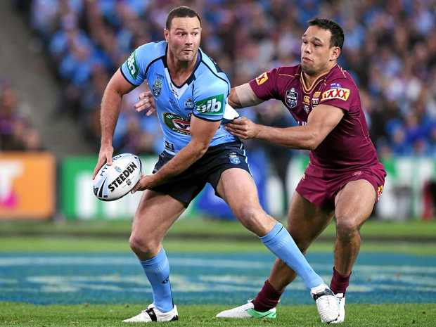 FIT FOR ACTION: New South Wales Blues captain Boyd Cordner (left) has declared himself fit for the State of Origin decider.