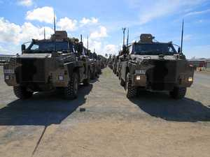 How to see 185 army vehicles, 420 personnel in Mackay