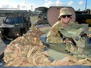GALLERY: 1000 army personnel make stop in Mackay