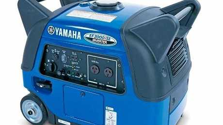 A generator like this one was stolen from a police roadside electronic sign on Steve Irwin Way at Glenview.