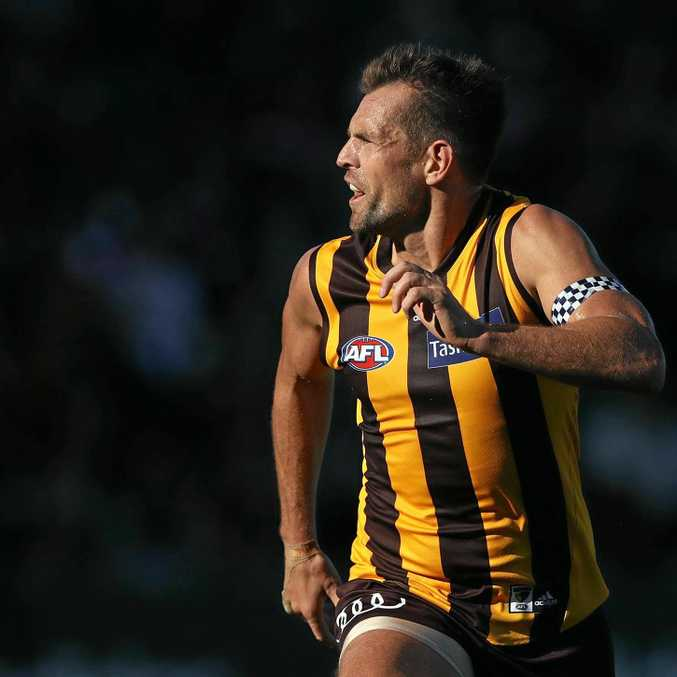 SAYING GOOD-BYE: Superstar Haws veteran Luke Hodge has announced he will retire at the end of the 2017 season.