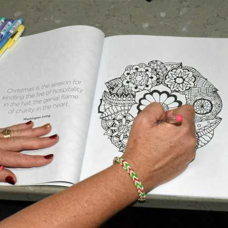 CRAFTY IDEA: Head to Take the Plunge for today's art and craft session.