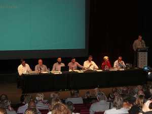 Rocky flood levee forum draws big crowd
