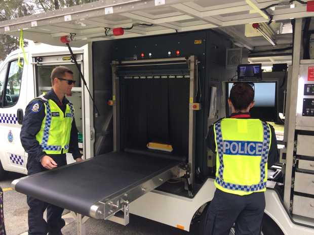 Western Australia launches the new Meth Truck equipped with a high-tech x-ray machine.