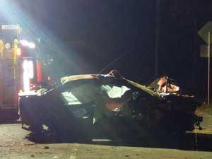 Woman, 57, killed, man seriously injured in crash