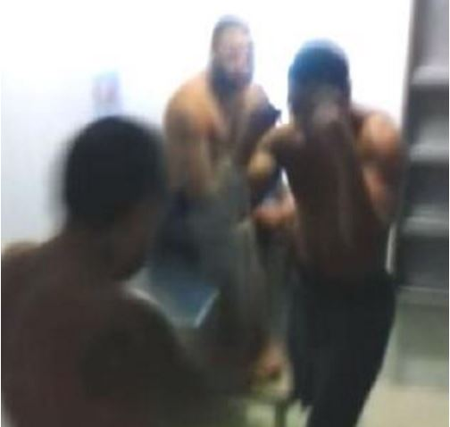 NX prison fights caught on camera. Picture: YouTube