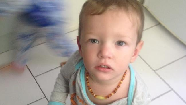 Mason Lee: The 21 month old was found dead with horrific injuries from head to toe at his stepfather's home in Caboolture last June.