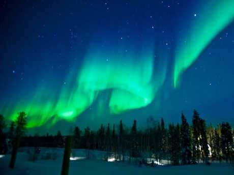 Spotting the Northern Lights is one of the growing attractions in Canada.
