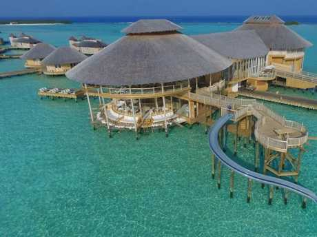 The Maldives is known for its luxury resorts including Soneva Jani.