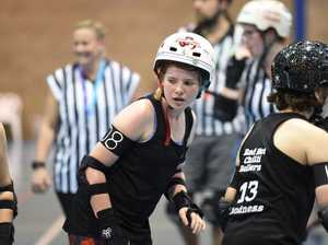 PHOTOS: Roller derby competition on the Fraser Coast