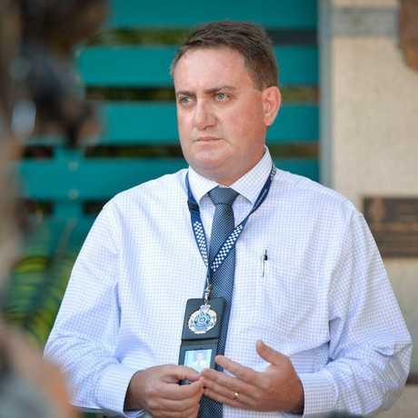INVESTIGATION: Detective Acting Inspector Paul Elliot.