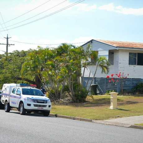 METH LAB: Police are guarding the Lyons St property until forensic officers from Brisbane arrive to assist with its dismantling.