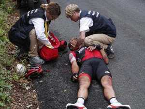Richie Porte's take on his horror Tour de France crash