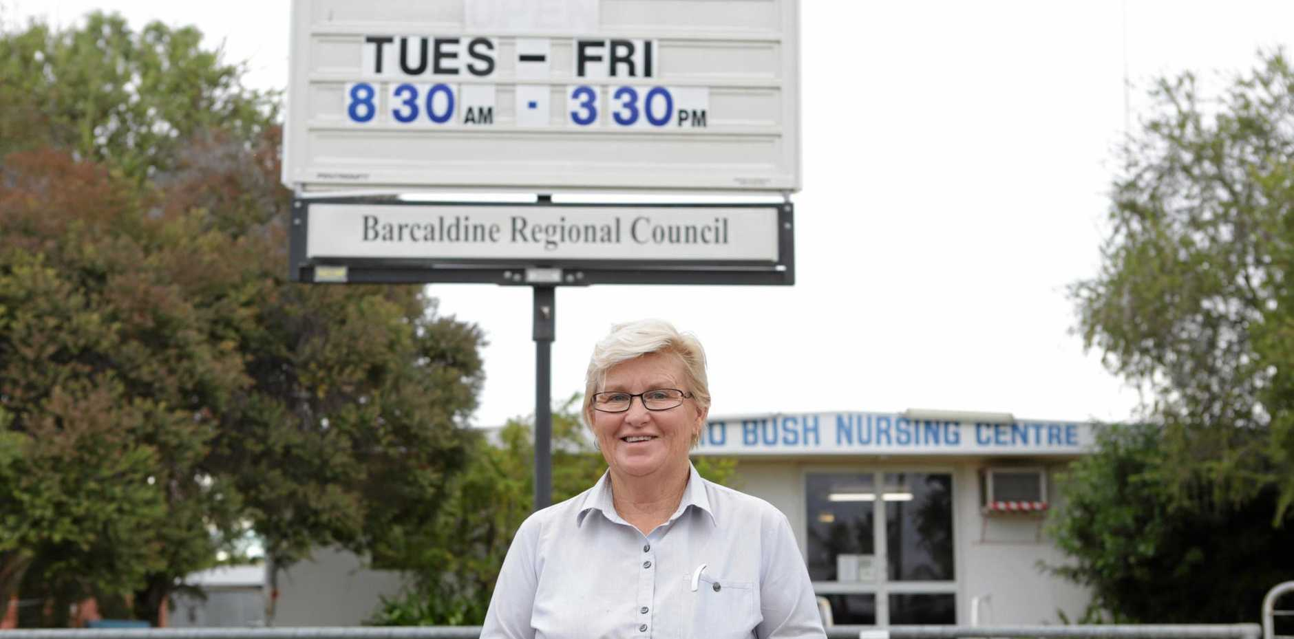HELPING HAND: Jericho Health Clinic nurse Leslie Delandell has been awarded an RFDS Local Hero award for her long-standing efforts within the Jericho community.