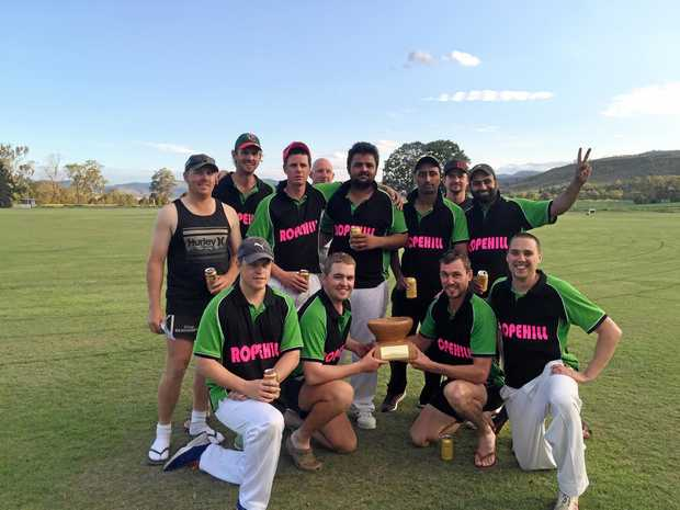 CHAMPIONS: Ropehill will be looking to defend its crown after its triumph last year in the pre-season competition.