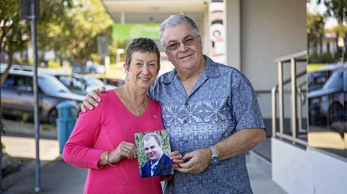 INSPIRATIONAL: Una and Michael Carpenter promoting organ donation awareness.