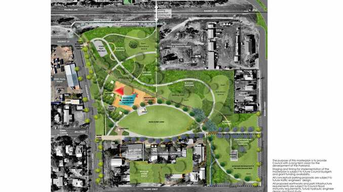 Updated Draft Master Plan of Chinchilla Botanical Parklands.