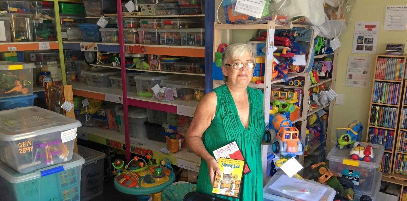 HAVE A SAY: Judith Baker is asking people to get involved to ensure the future of Mackay Toy Library.