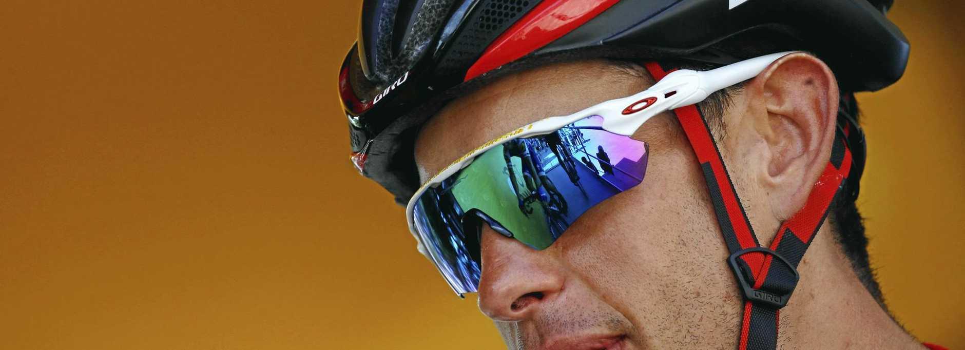 Richie Porte is determined to make a speedy return. (AP Photo/Peter Dejong)