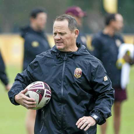 Maroons coach Kevin Walters.