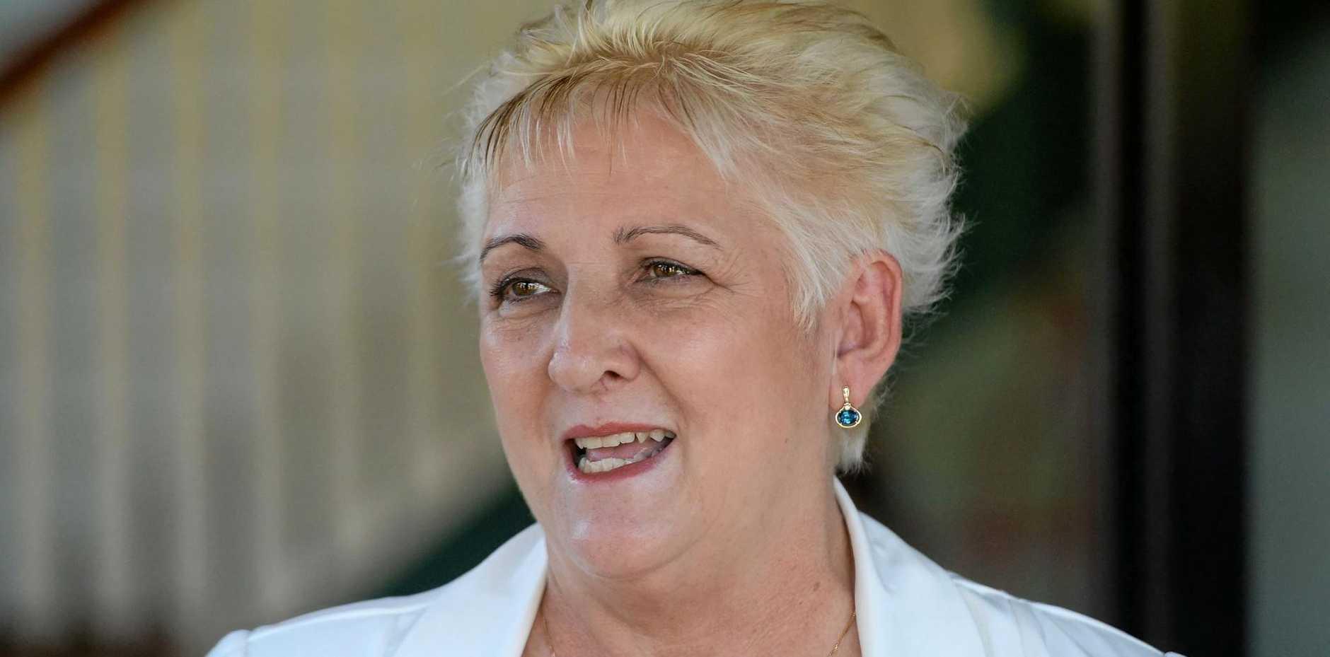 Member for Capricornia Michelle Landry.