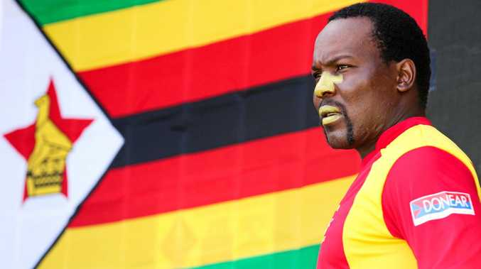 KEY MAN: Hamilton Masakadza scored 73 runs in his side's memorable series clinching win over Sri Lanka.