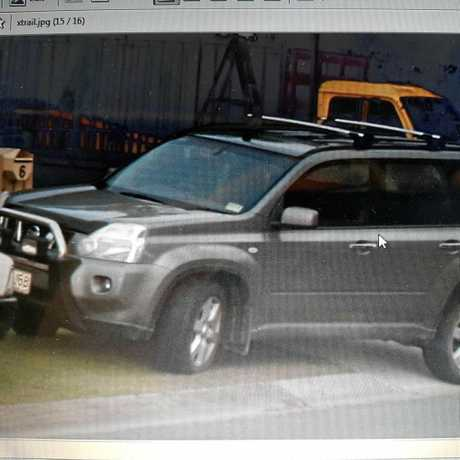 This grey Nissan X-Trail was stolen on Monday from Mandarana (901 LBB).